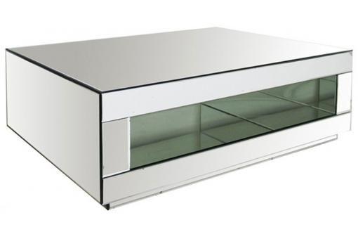 Table Basse Miroirs Ariel Table Basse Miroir Table Basse Design Table Basse