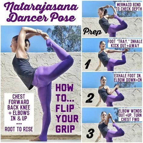 yoga  dancer pose detailed justplainandsimpleyoga