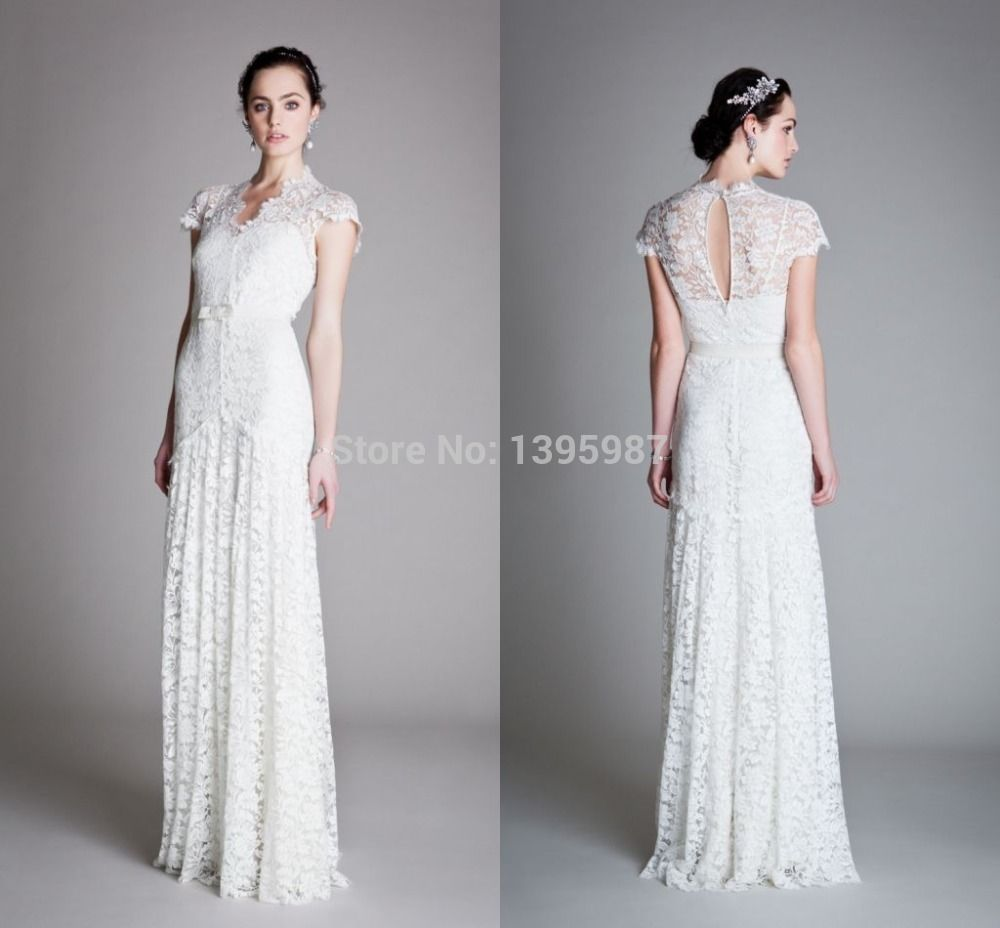 Fabulous Summer Spring Designer Wedding Gown 2015 New arrival Cap ...