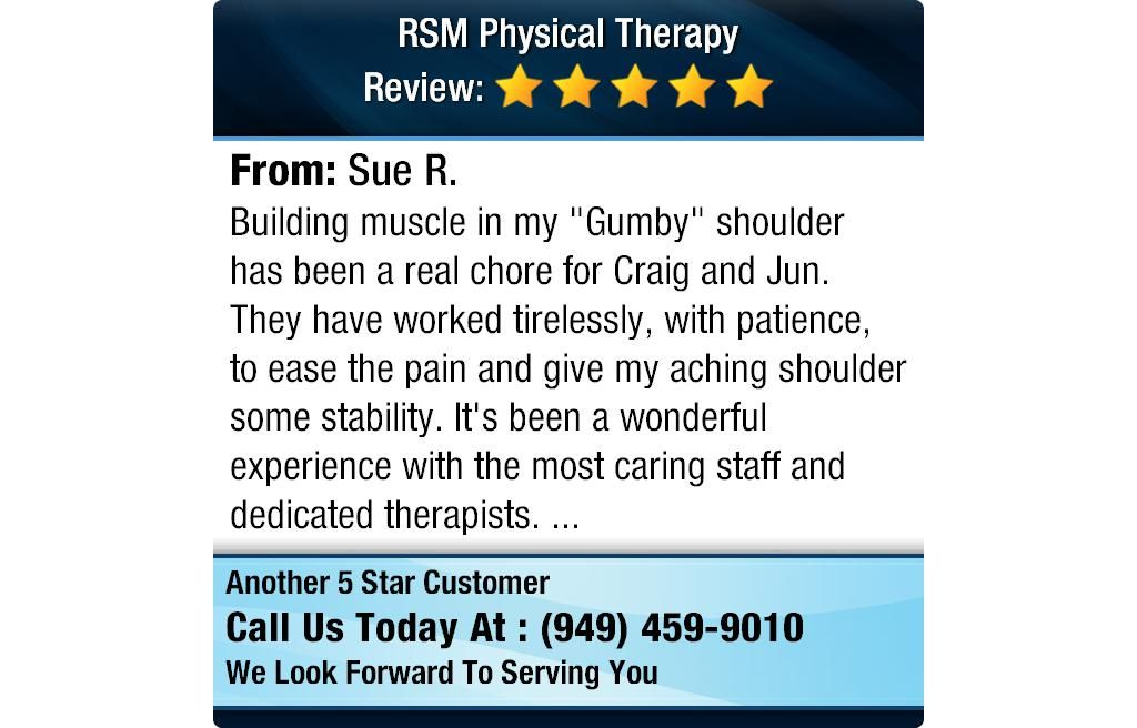 """Building muscle in my """"Gumby"""" shoulder has been a real"""