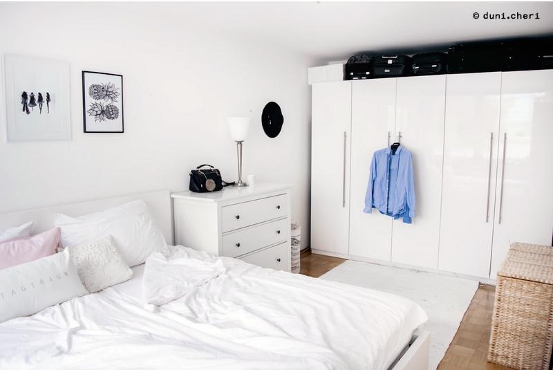 schlafzimmer-klein-einrichtung-ideen-weiss-skandinavisch ...