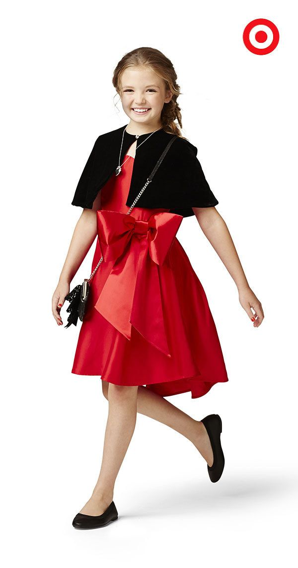 19f9f03abe3 The Annie for Target Red Bow dress is an iconic Annie-style made modern