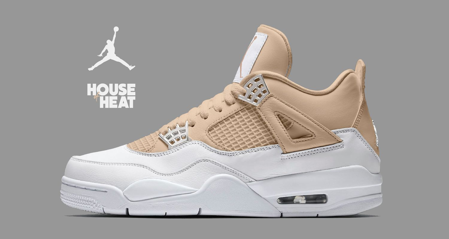 "9452d8afaa14e7 The Concept Lab   Air Jordan 4 ""Iced Latté"""