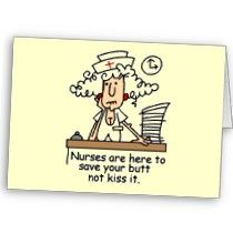 Nurse Humor T-shirts and Gifts Greeting Card by nurse_doctor