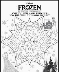 frozen maze worksheet  google search  frozen theme party frozen printables frozen printables