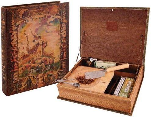 smoker | גלגול | אביזרים לגלגול | אוריגינל קבאטזה קופסה עץ לאיחסון מוצרי עישון דגם HABIT