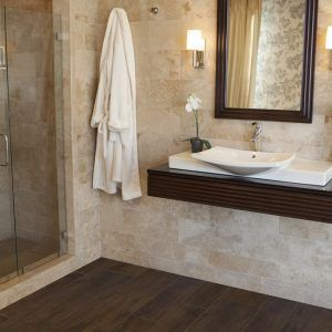 Wood Flooring For Bathrooms And Kitchens  Httpfightingdems Inspiration Flooring For Bathrooms Review