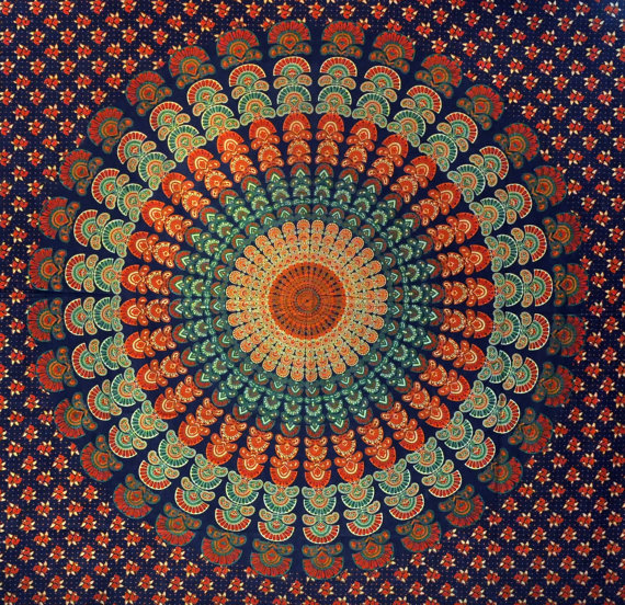 Cloth Wall Hangings mandala hippie hippy tapestry indian wall hanging throw cotton
