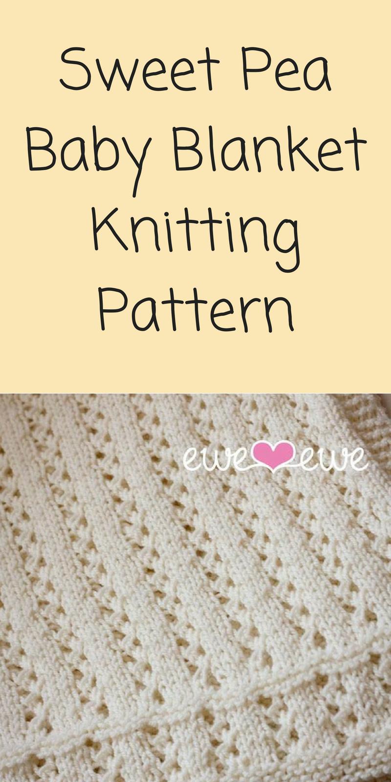 SWEETPEA baby knitting pattern
