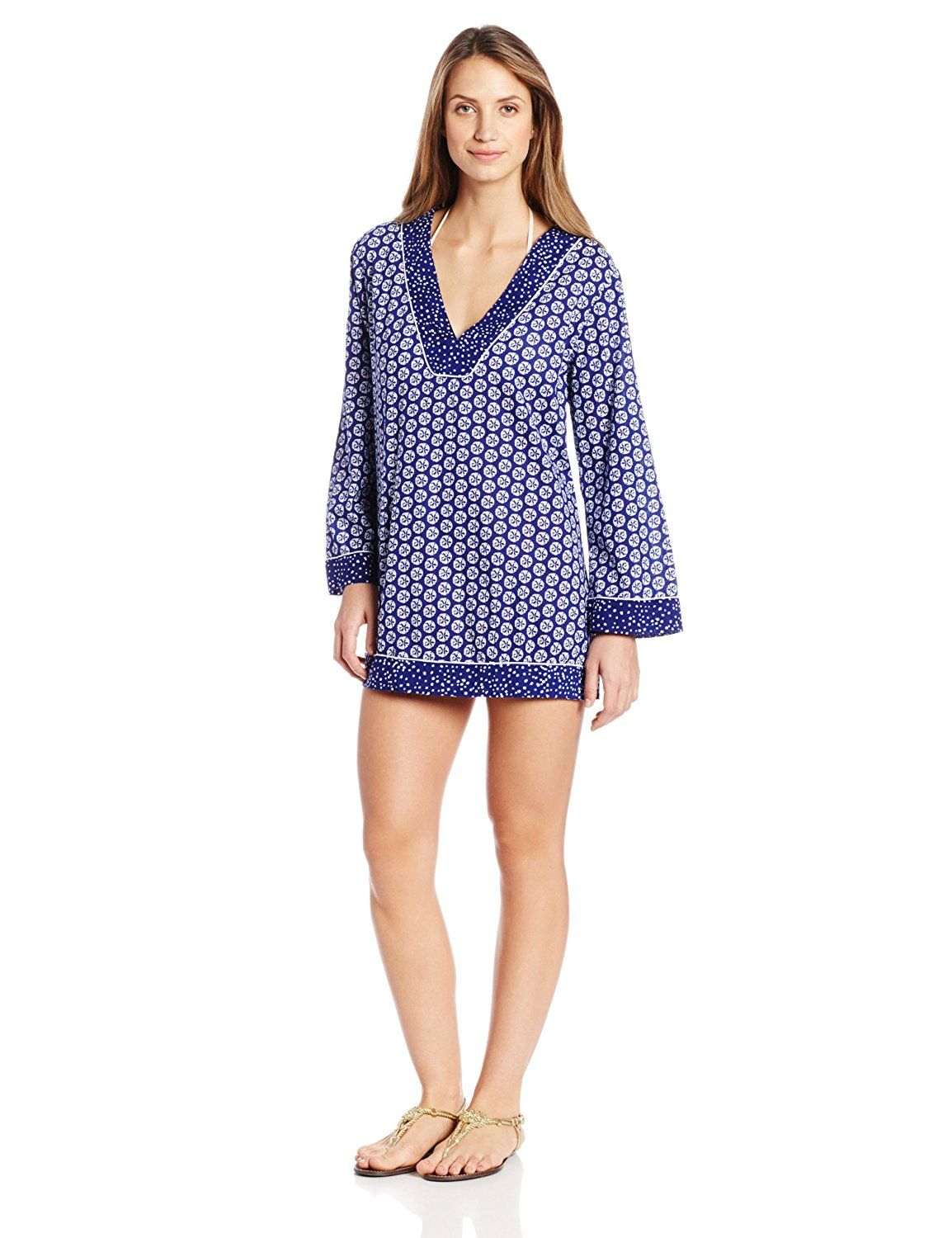 La Blanca Women's Sand-Dot Dollar Tunic * Hurry! Check out this great product : Fashion