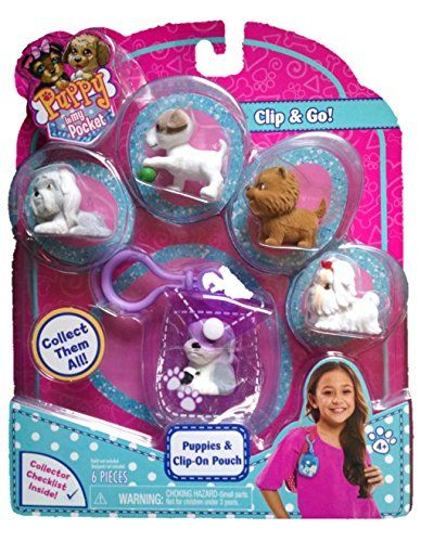 Disney Puppy Surprise 48183 Puppy In My Pocket Puppies With Clip On