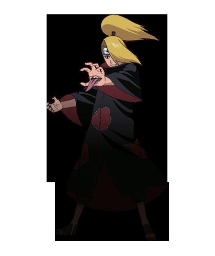Deidara Render Shinobi Rumble By Maxiuchiha22 On Deviantart Di 2020