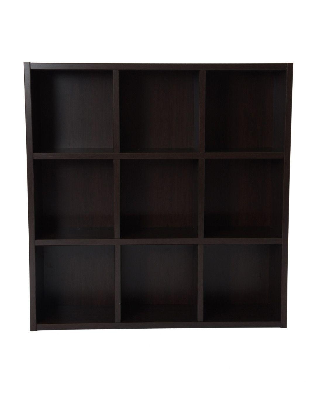 Boraam Techny Collection Tobey Bookcase (Espresso & Light Oak)
