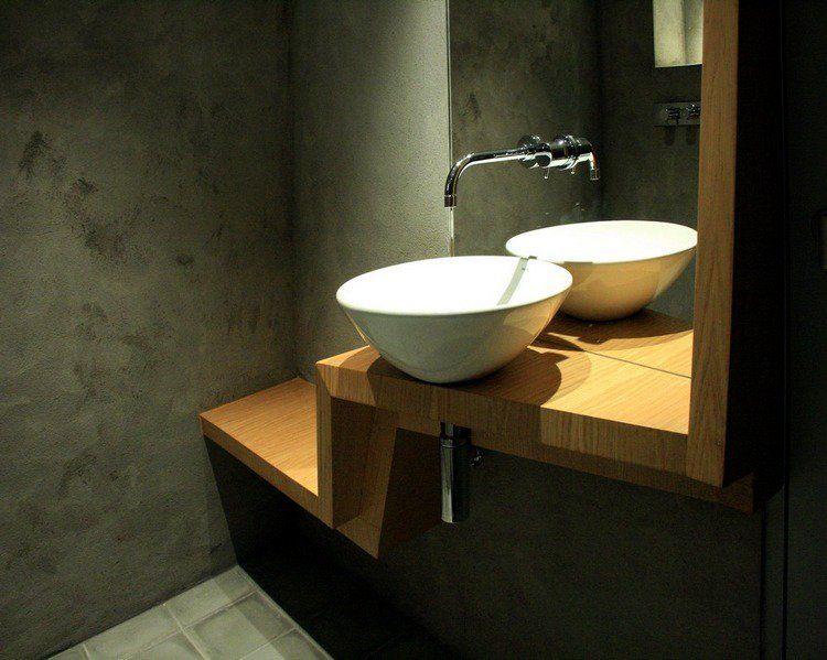 banc salle de bain - un petit meuble avantageux et distingué ... - Robinetterie Vasque Salle De Bain