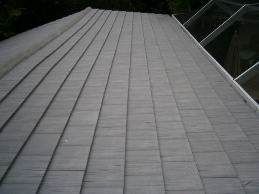 This Miami Fl Concrete Tile Roof Needed A Reroofing Project Because Of Scuff Marks On The Tiles The Project Not Only Co Concrete Tiles Reroofing Underlayment