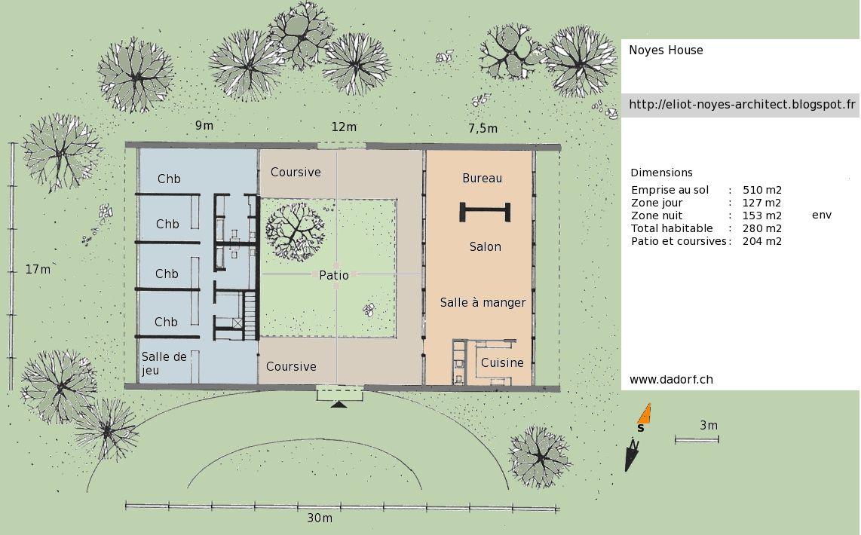 plan maison contemporaine avec patio   MAISON PATIO in 2019   Floor ...