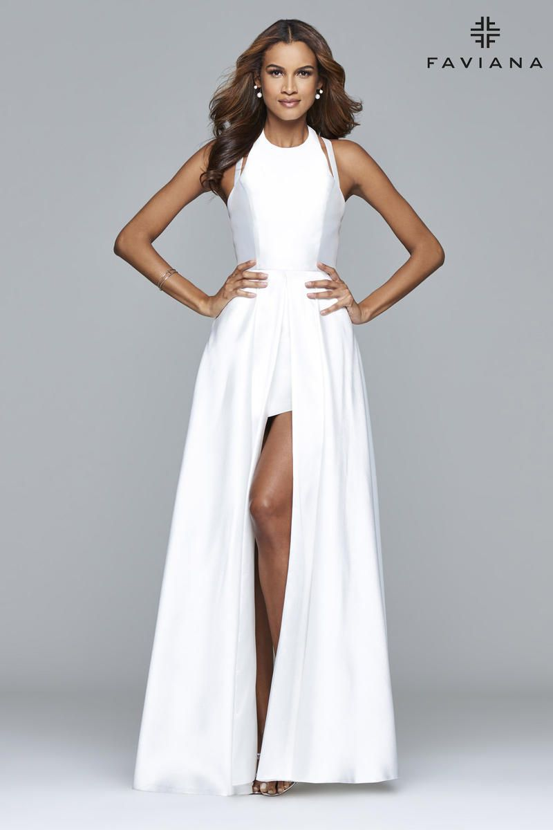 43d9489da2b6 7752 Faviana Dresses, Satin Dresses, Bridal Dresses, Beautiful Prom Dresses,  High Low
