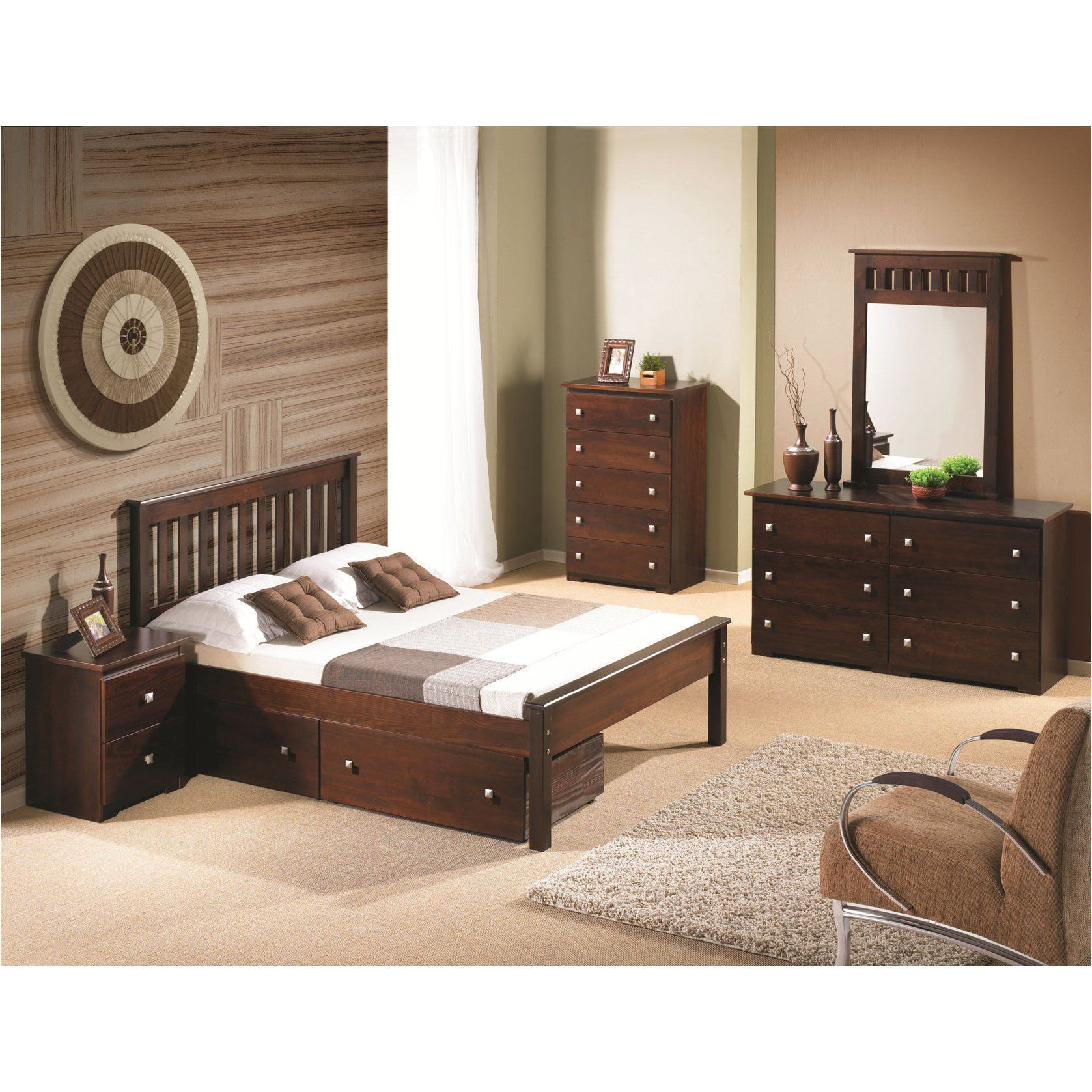 Donco Kids Contempo Full Size Bed Espresso Finish Assembly
