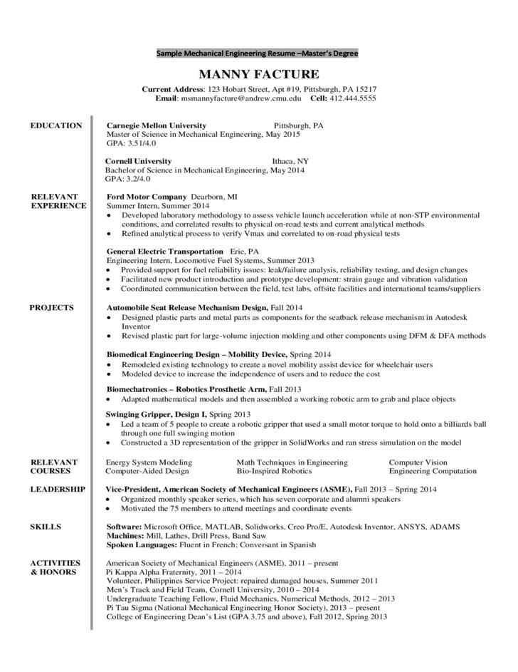 Resume Template Undergraduate The Seven Secrets About Resume Template Undergraduate Only Aircraft Maintenance Engineer Engineering Resume Aircraft Maintenance