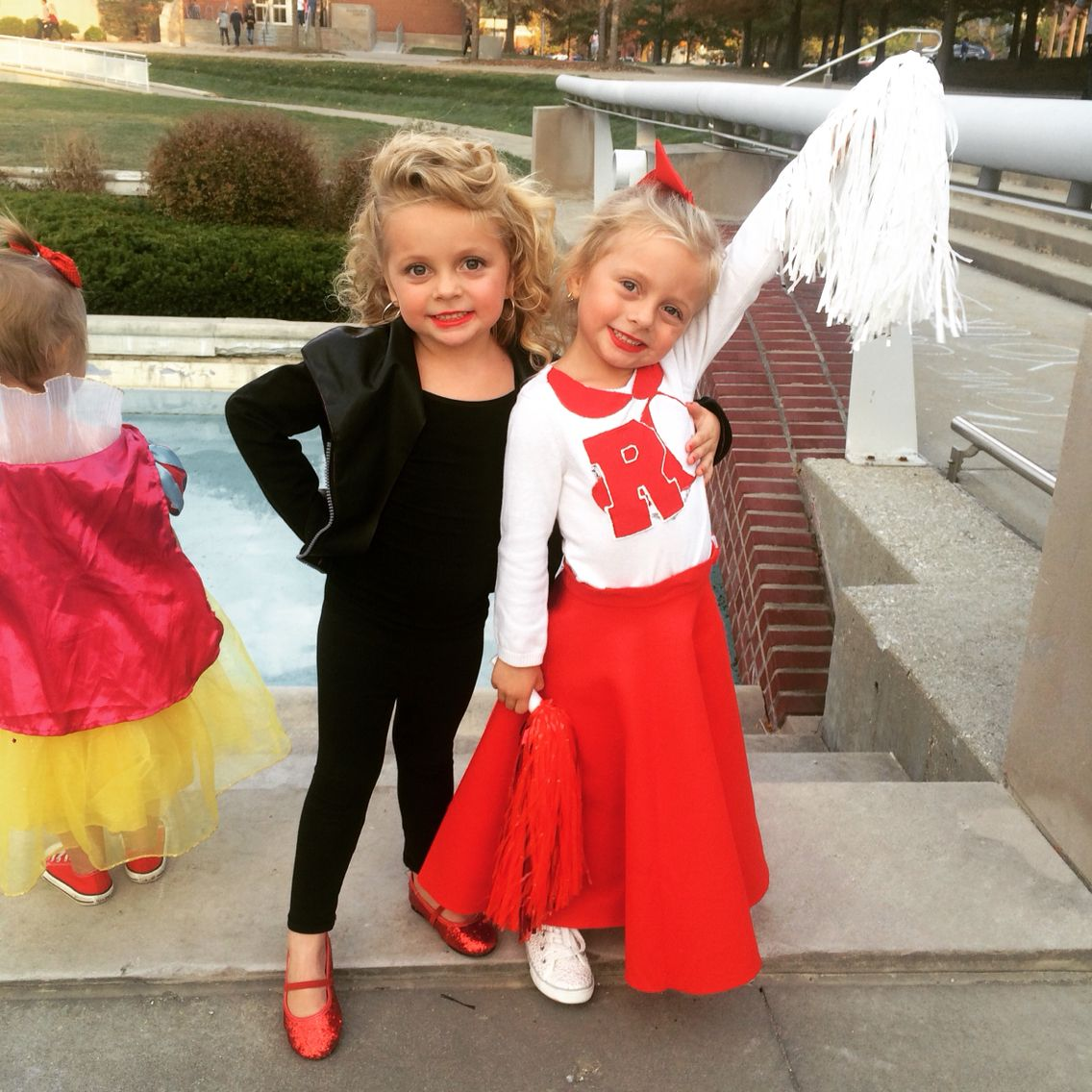 Bad girl Sandy and good girl Sandy from Grease. Twin grease costume.  sc 1 st  Pinterest & Bad girl Sandy and good girl Sandy from Grease. Twin grease costume ...