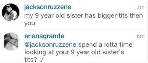 Ariana Grande had the best possible shut down to this ridiculous comment. | 24 Times Celebrities Shut Body-Shaming Comments The Hell Down