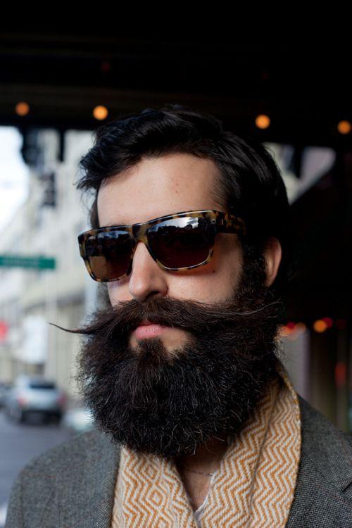 #beard #moustache #glasses