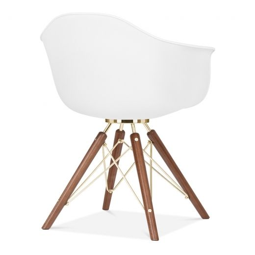 Moda Armchair CD3 White Eames stuhl, Modern, Stühle