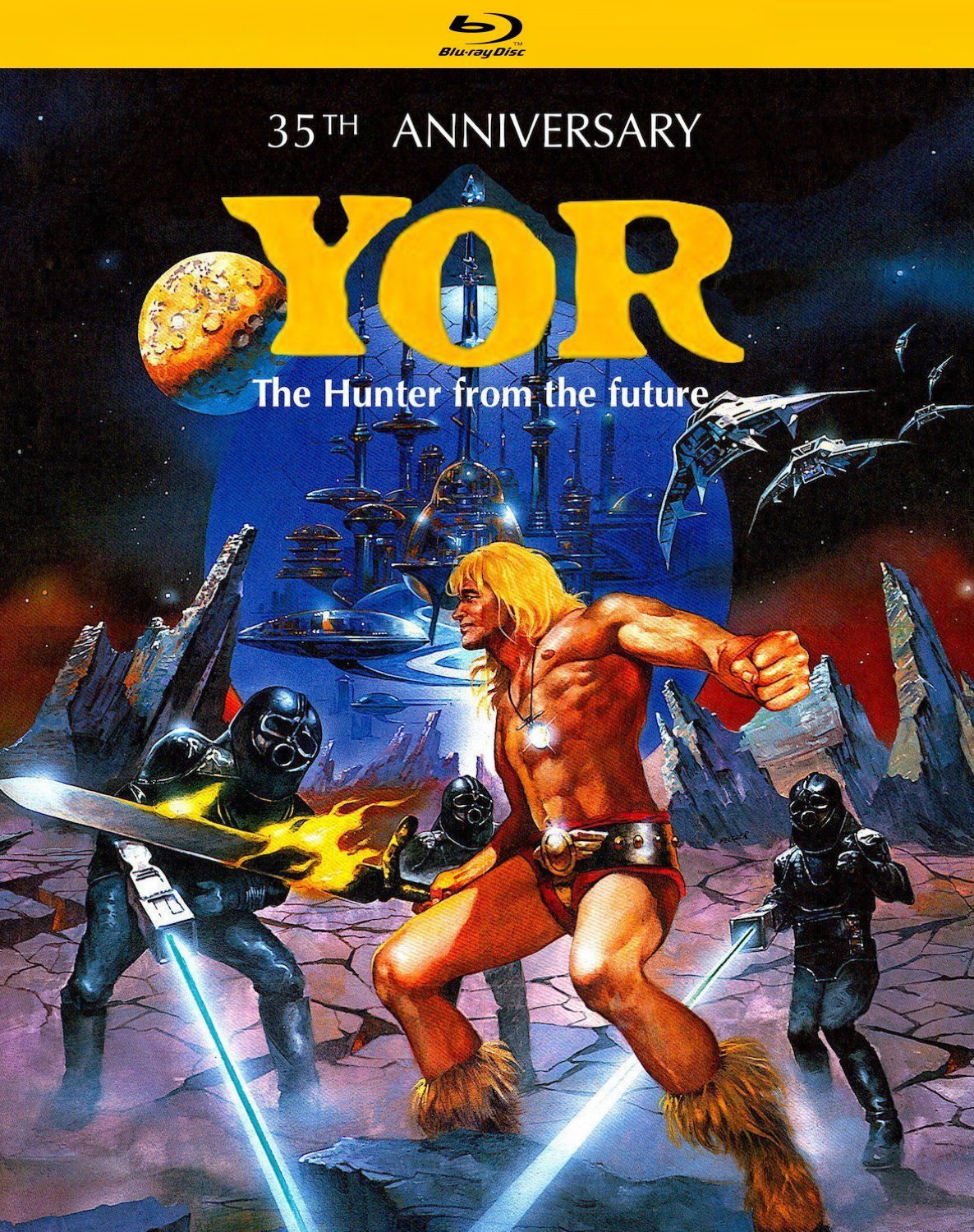 YOR THE HUNTER FROM THE FUTURE 35TH ANNIVERSARY EDITION