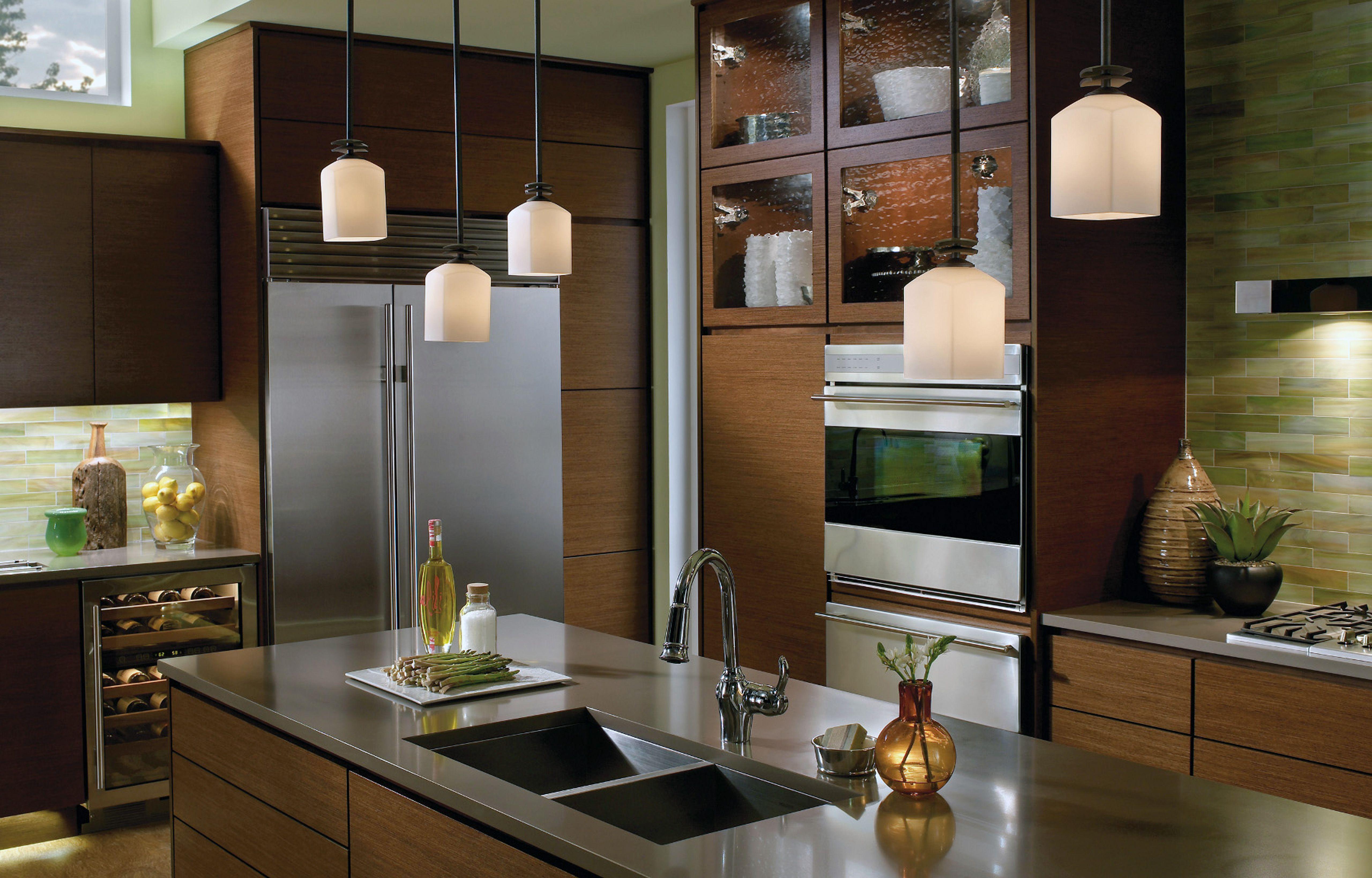 Kitchen Minimalis Modern Wooden Kitchen Ideas Brown Varnished Wooden Kitchen Island Stainless Steel Counter