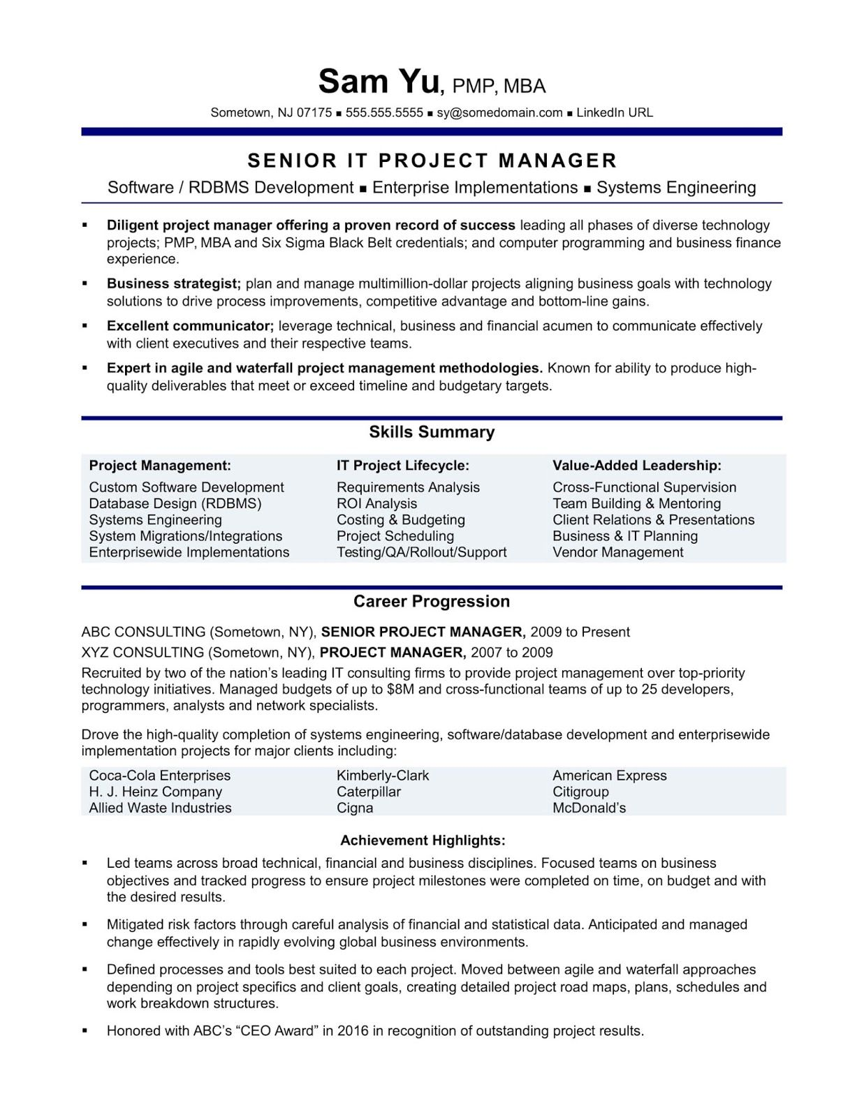 Marketing Manager Cv Example Marketing Manager Cv Example 2018 Marketing Manager Cv Examples Uk Ma Project Manager Resume Project Management Resume Examples