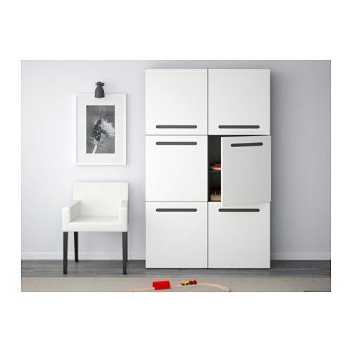best aufbewahrung mit t ren wei selsviken hochglanz wei schwarzbraun ikea und t ren. Black Bedroom Furniture Sets. Home Design Ideas
