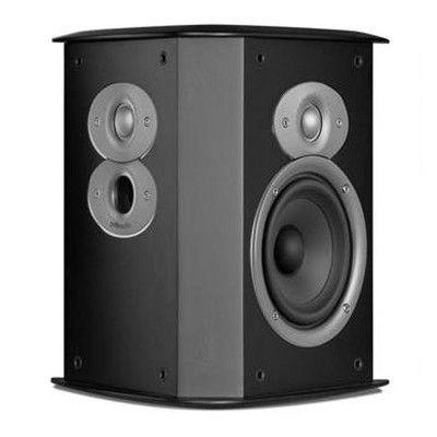 Black Polk Audio F//XiA4 Timbre-Matched Bipole//Dipole Surround Speaker Pair