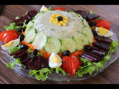 salade composée - blog cuisine marocaine / orientale ma fleur d