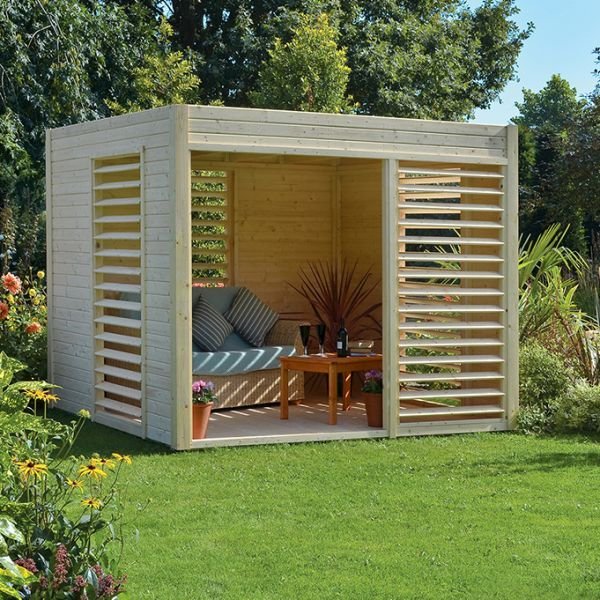 Contemporary Garden Sheds Uk rowlinson carmen pavillion http://www.sheds.co.uk/summer-houses