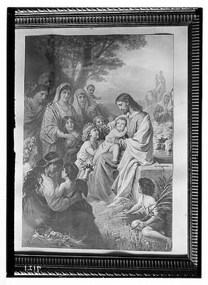 Copy of Painting 'Suffer The Little Children to Come Unto Me | eBay