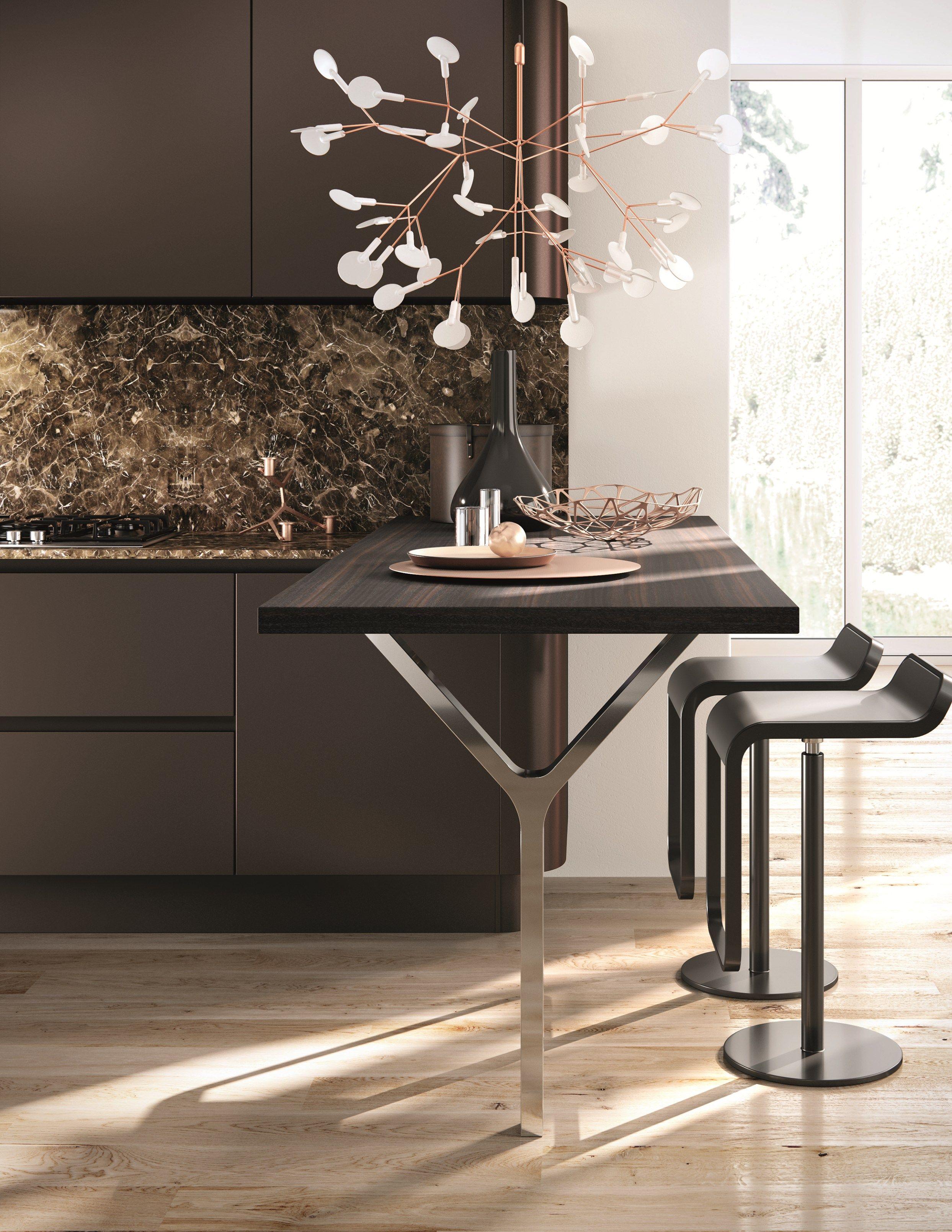 DOMINA Cocina Lineal By Aster Cucine Diseño Lorenzo Granocchia. Kitchen  ModernContemporary ...