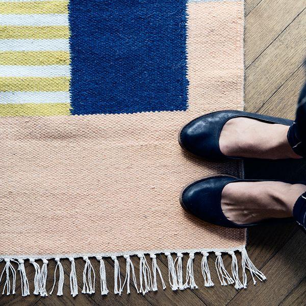 Squares Kelim Carpet by Ferm living