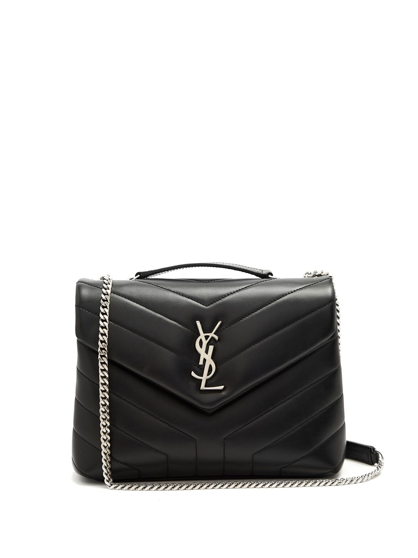 51719455be Click here to buy Saint Laurent Lou Lou small quilted-leather shoulder bag  at MATCHESFASHION.COM