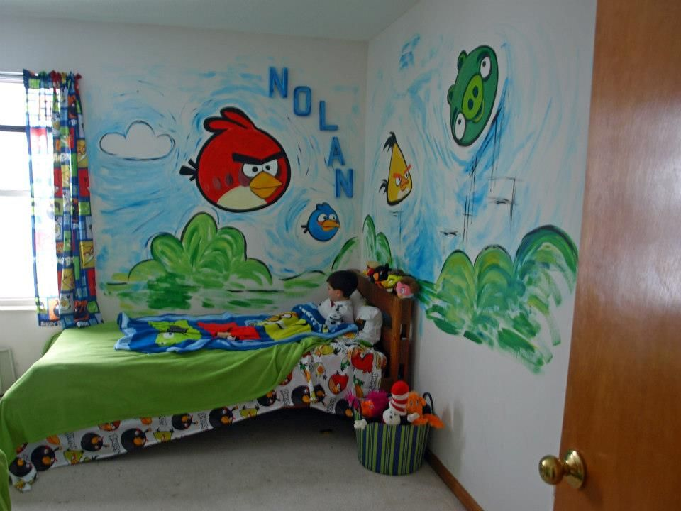 Angry Birds Bedroom By Paintersam Yeah Me A Special