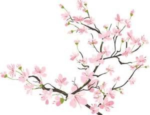 falling cherry blossoms gif