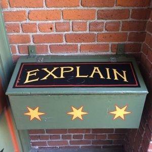 Rebranding the Suggestion Box? Do Explain #Lean
