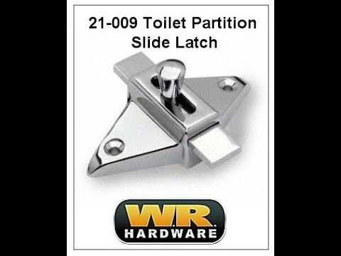 Toilet Partition Slide Latch Toilet Partition Parts - Bathroom partition slide latch