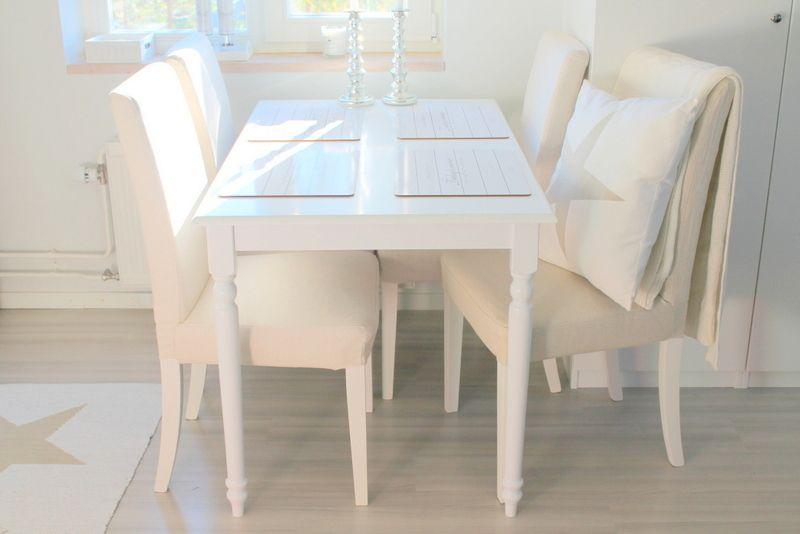BROAGER ruokapöydän kauniit yksityiskohdat ihastuttivat