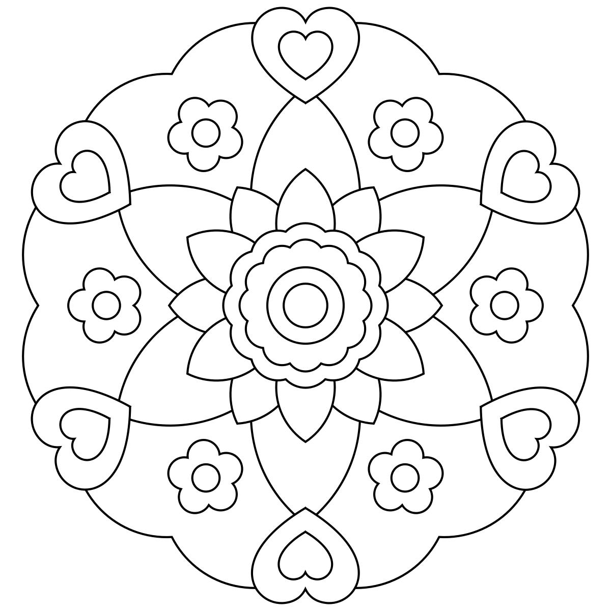 Free printable mandala coloring pages | Embroidery-Madalas ...