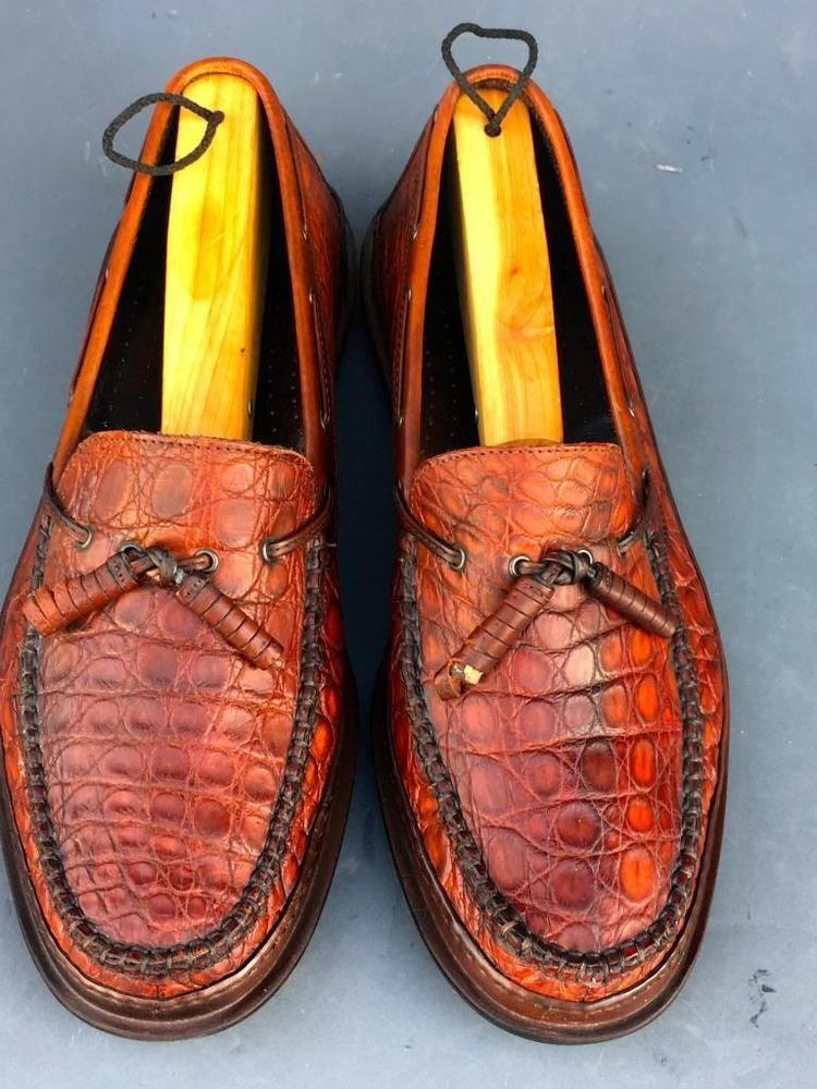 5b65e90016b Bragano Cole Haan Italy Men s Kilt Tassel Loafers~BROWN LEATHER MENS SIZE  11M  BRAGANO  LoafersSlipOns  DRESSOXFORDS