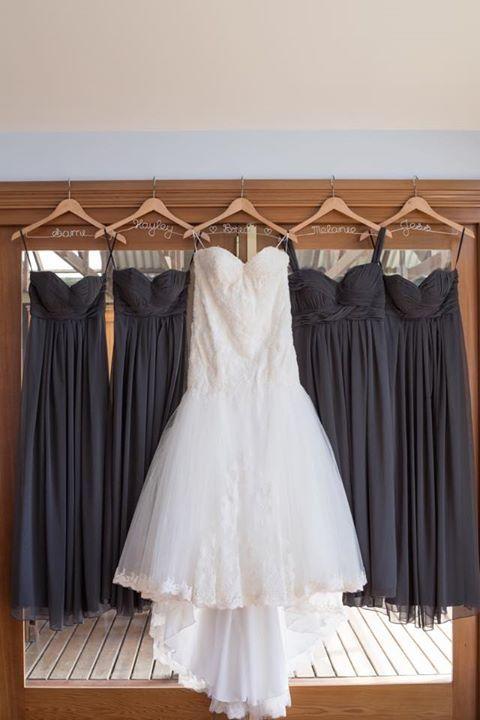Personalised Wedding Coat Hanger With Large Bow Wedding Coat
