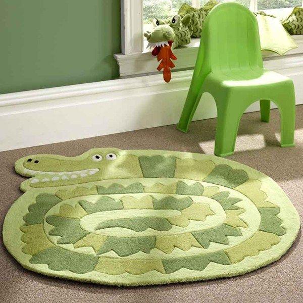 Kiddy Play Crocodile Rug Free Uk Delivery The Er Jungle Nurserynursery