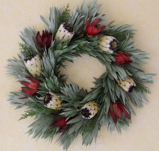 Protea wreaths holiday wreaths christmas wreaths angels - Afrikanische weihnachtsdeko ...
