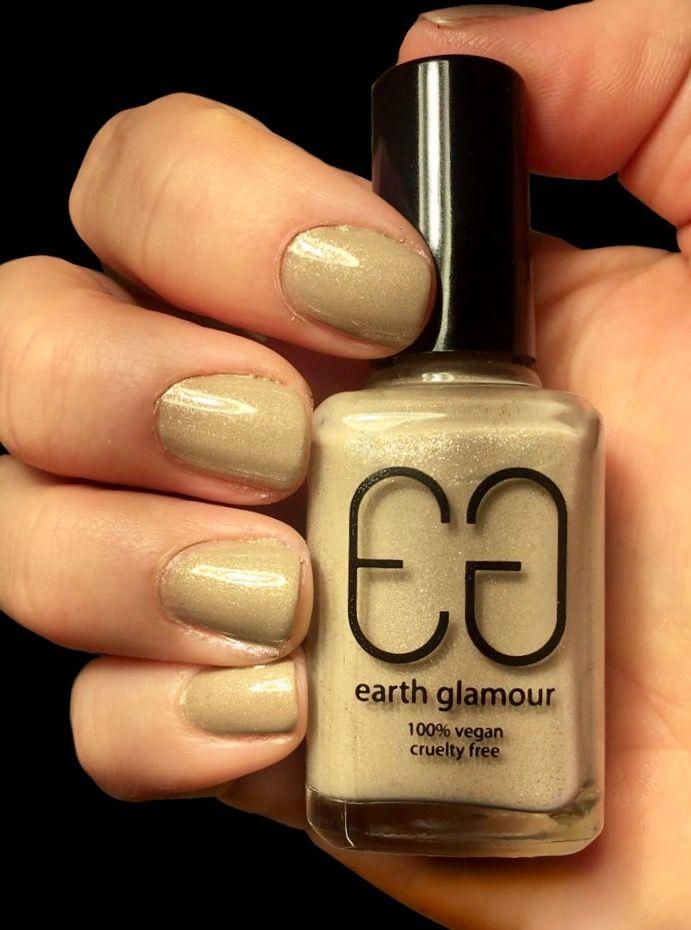 Earth Glamour's Vegan Nail Polish Perl Dreams..