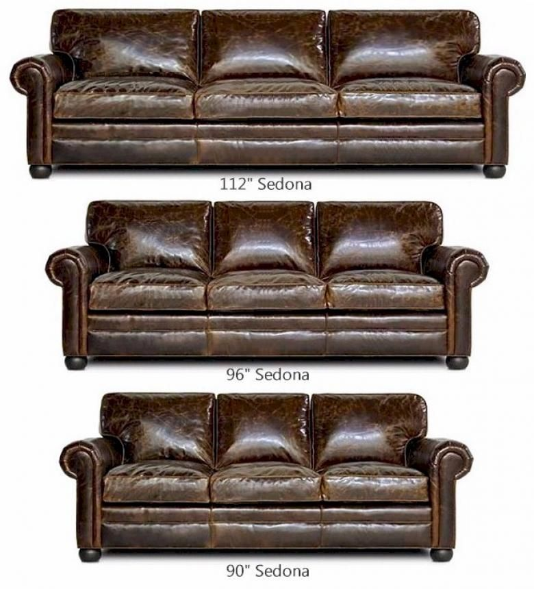 Ordinaire Sedona (Lancaster) Leather Sofa Collection
